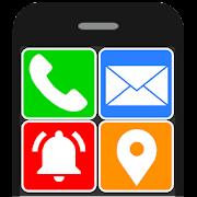 Senior Safety Phone - Big Icons Launcher