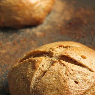 Sweet Wheat Bread Bowls.