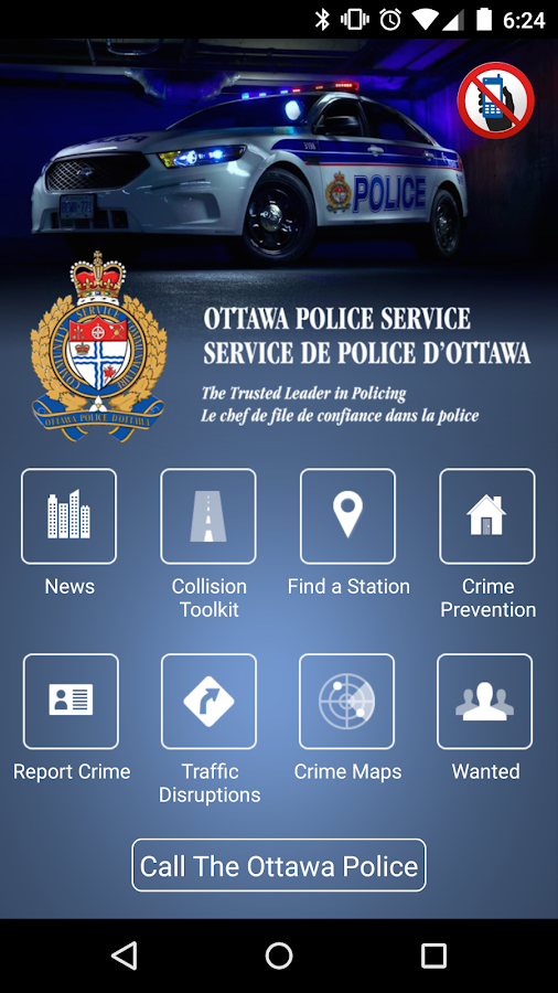Ottawa Police- screenshot