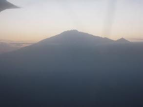 Photo: Mount Meru and Little Meru from the air