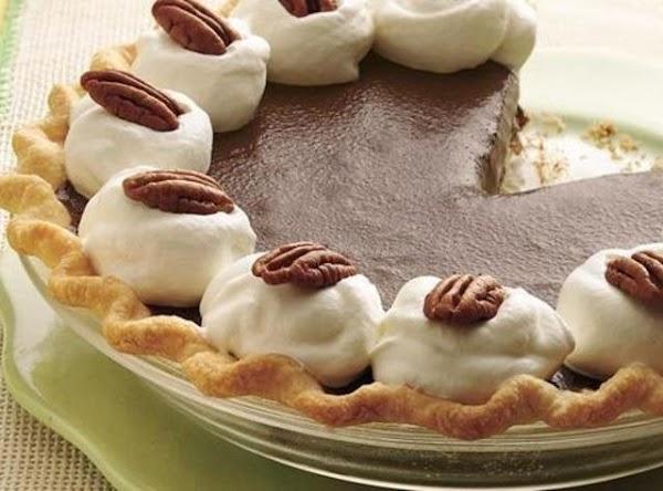 Chocolate Nut Truffle Pie Recipe