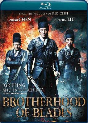 Filme Poster Brotherhood of Blades BRRip XviD & RMVB Legendado