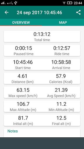 Bike Computer - GPS Cycling Tracker 2.8 screenshots 6