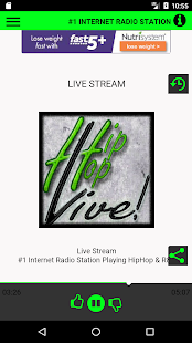 Hip Hop Live Radio- screenshot thumbnail