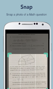 Maths homework solver