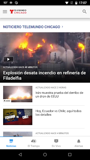 telemundo chicago screenshot 2