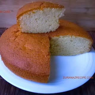 Vanilla Plain Cake.