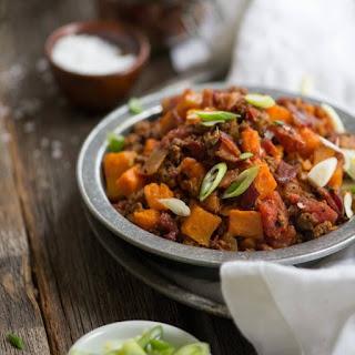 Smoky Beanless Chili.