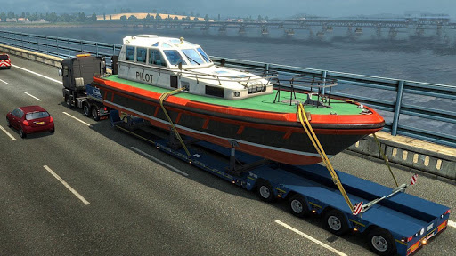Euro Truck Boat Cargo Driving Simulator 2020 1.0.8 screenshots 2