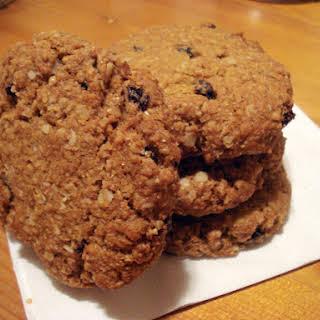 Vegan Oatmeal-Flax-Spelt Cookies.