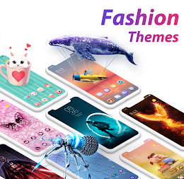 U Launcher Lite-3D Launcher, Hide apps,Free themes APK screenshot thumbnail 5
