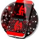Neon Aquarius Keyboard icon