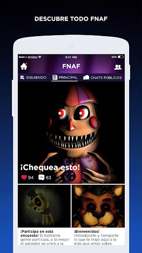 FNAF Amino en Espau00f1ol 2.2.27032 screenshots 2