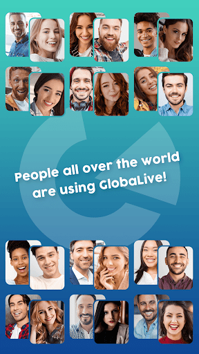 GlobaLive - video chat with worldwide Beauties - screenshot