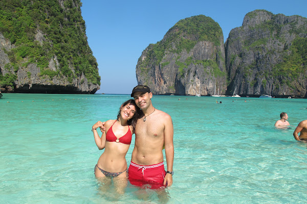 Stop at the world famous Maya Bay