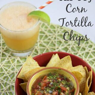 Air-Fry Corn Tortilla Chips Recipe