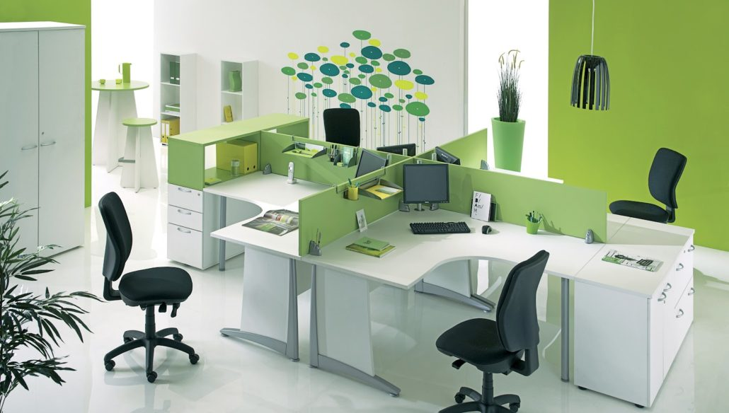 Văn phòng làm việc nhân viên marketing online