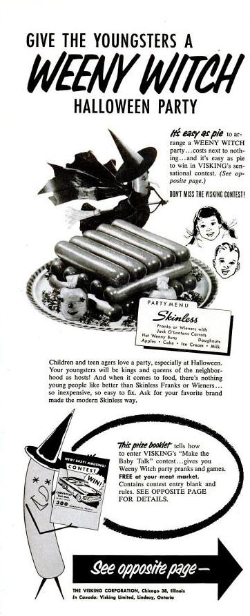 Photo: Weeny Witch hotdogs - 1953