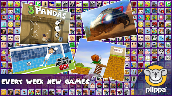 Plippa Games - náhled