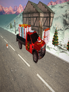 Snowy Christmas Gift Delivery Truck Simulator 2018 - náhled
