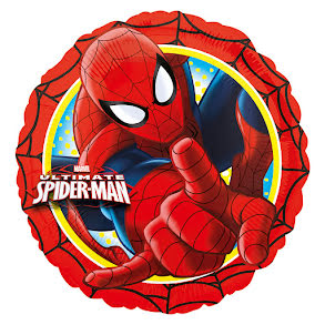 Folieballong, Spiderman röd