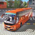 Public Coach Bus Driving Sim : New Bus Games 2020 icon