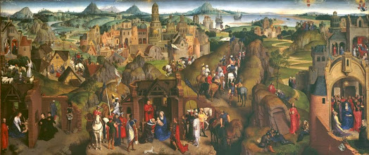 Photo: Hans Memling, The Seven Joys of the Virgin, 1480