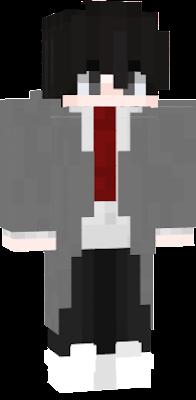 Anime School Boy