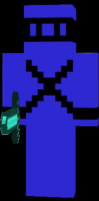 ninja x games skin