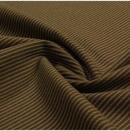 Diagonal Inredningstyg - grön/brun