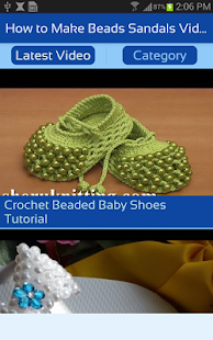 How To Make Beads Sandals Video Beaded Flip Flop Apps Bei Google