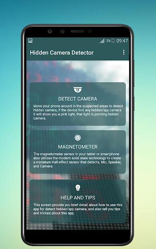 Hidden Camera Detector App Free App Report on Mobile Action - App