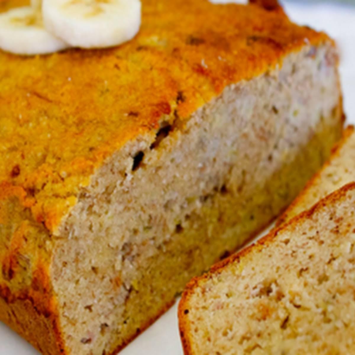 Easy Gluten Free, Grain  clear Banana Bread