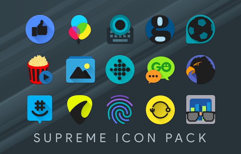Supreme Icon Pack Screenshot 5