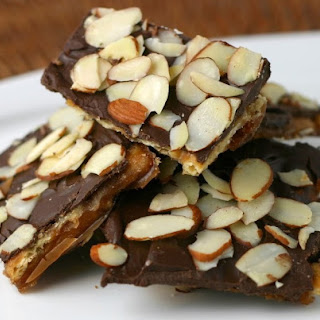 Almond Chocolate Toffee Crunchies.