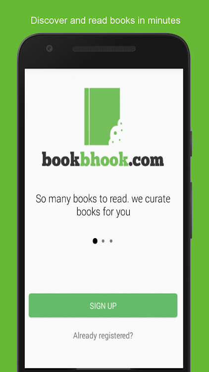 bookbhook - book summary chat stories reading app – (Android