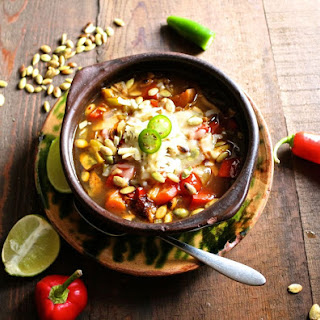 Chipotle Chicken Soup.