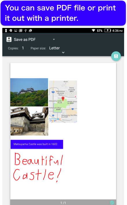 Pocket Note - a new type of notebook- screenshot