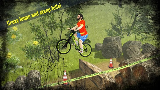 Hill Climb Bicycle Rider - náhled