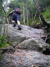 Photo: Ascending Mount Hunger.