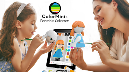 ColorMinis Collection -Making 3D art coloring real APK screenshot thumbnail 3