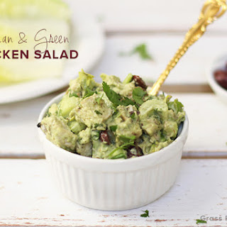 Clean & Green Paleo Chicken Salad (AIP modification)