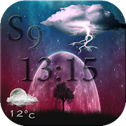 Galaxy s9 Weather -weather today-météo 2018 pro