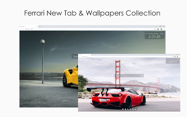 Ferrari New Tab & Wallpaper Collection