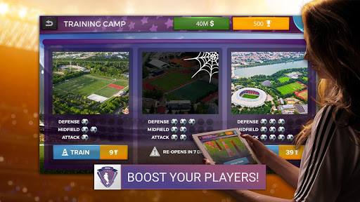 Women's Soccer Manager - Football Manager Game 1.0.13 screenshots 3
