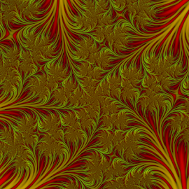 by Cassy 67 - Illustration Abstract & Patterns ( leafs, swirl, digital art, fractal, digital, feather, fractals )