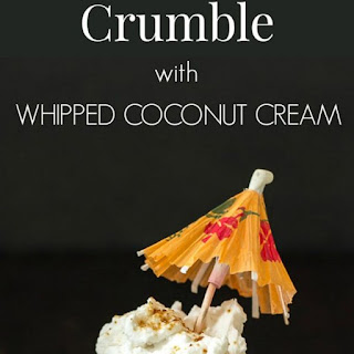 Tropical Fruit Crumble with Coconut Cream Recipe
