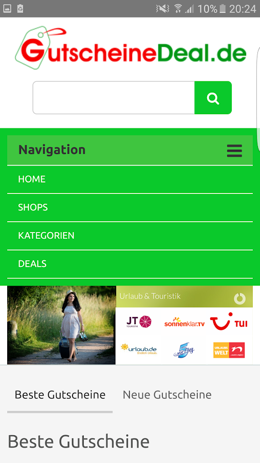 Gutscheine & Deals App- screenshot