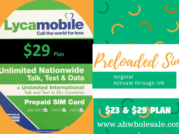 AH Prepaid- Wholesale Cell Phone Accessories-Sim Cards-AT&T