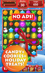 Christmas Treats Match 3- screenshot thumbnail